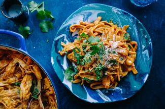 Chicken Curry One Pot Pasta